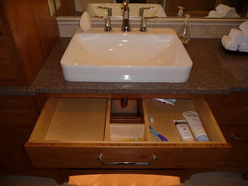 Under Sink Drawers Bathroom Thedancingpa Com