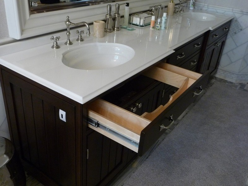 Custom Bathroom Vanities With Drawers bathrooms