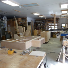 Cabinet production